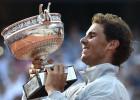 Nadal, noveno Roland Garros