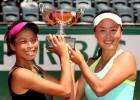 Peng Shuai y Hsieh Su-Wei, campeonas de dobles