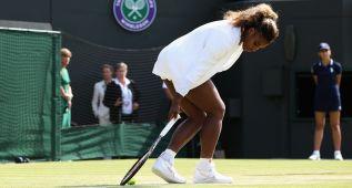 Un extraño mal de Serena retira a las Williams del dobles