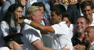 "Djokovic reconoce que Becker le ayudó ""mentalmente"""