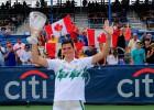 Raonic conquista Washington y llega lanzado a Toronto