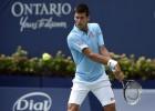 Djokovic pasa a tercera ronda tras sufrir ante un gran Monfils