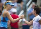 Carla Suárez da la campanada y supera a Maria Sharapova