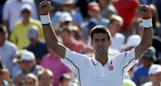 Djokovic ya está en tercera ronda tras fulminar a Mathieu