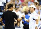 Bautista cae ante Federer y el US Open se queda sin españoles