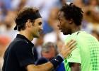 Federer alcanzó las semifinales con remontada frente a Monfils