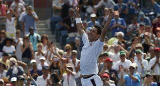 Nishikori voltea a Djokovic y lleva a Japón hasta la final
