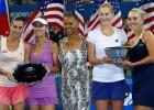 Makarova y Vesnina impiden a Hingis alzar otro Grand Slam