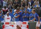 Gasquet y Tsonga rematan y llevan a Francia a la final