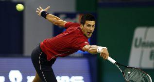 Djokovic sufre, pero será el rival de David Ferrer en cuartos