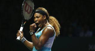 Serena vence a Ivanovic en su debut en el Masters de Singapur