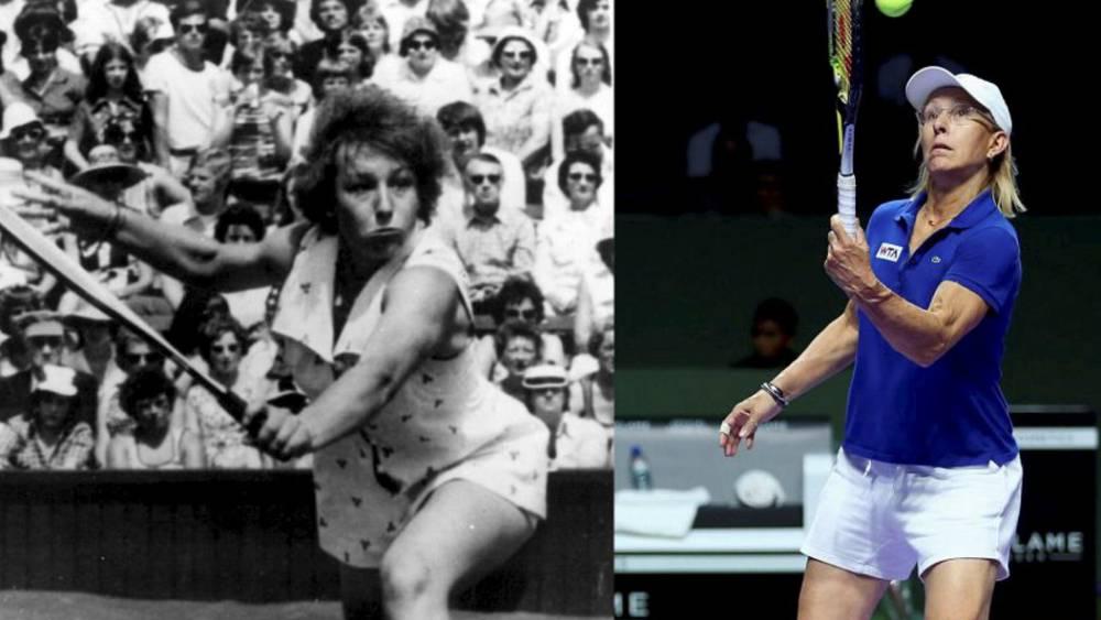 ¡Cómo han cambiado los mejores tenistas de la historia!