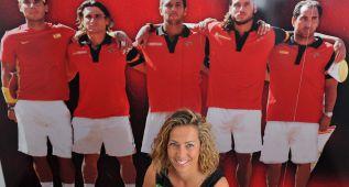 Los tenistas dirán a Gala León que no la ven como capitana