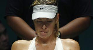 Maria Sharapova, con pie y medio fuera del Masters