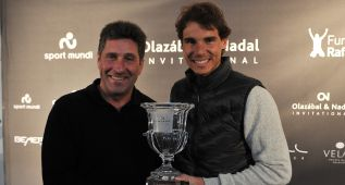 Rafa Nadal y Chema Olazábal volverán a retarse en Mallorca