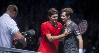 'Opera Prima' de Federer ante Andy Murray: 6-0 y 6-1