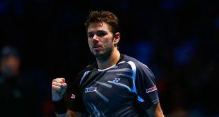 Wawrinka completa con Federer las semifinales del Masters