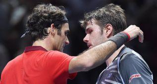 Federer: drama, problemas de espalda y hoy, Novak Djokovic