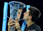 La espalda de Federer da la cuarta Masters Cup a Djokovic
