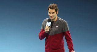 Federer llega a Lille en su avión privado tras consulta médica
