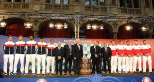 Roger Federer sale tocado a por la Copa Davis que le falta