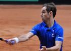 Gasquet juega contra Federer el punto clave de la final