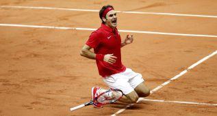 """Federer: """"Es un día histórico, llevaba 15 años esperando esto"""""""