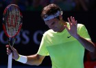 Seppi deja KO a Federer