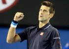 Novak Djokovic gana ante 16 aces de Fernando Verdasco
