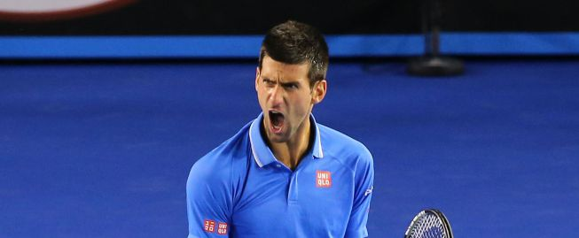 Djokovic, a la final con Murray al destronar a Wawrinka