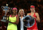 Serena Williams, campeona y ya 19 títulos de Grand Slam