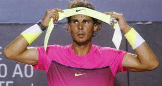Fognini detuvo a Rafa Nadal, entre calambres y bronca