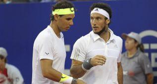Nadal regresó a Buenos Aires con un triunfo en dobles