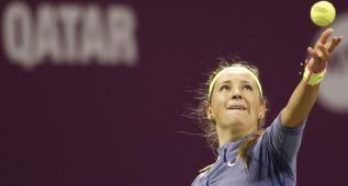 Azarenka confirma su recuperación y gana a Venus