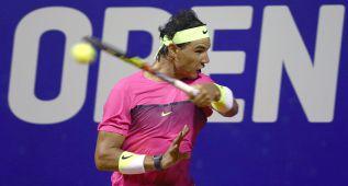 Rafa Nadal en semifinales ante Berlocq tras barrer a Delbonis