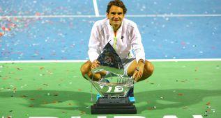 Federer rebasa los 9.000 aces en su carrera y gana a Djokovic
