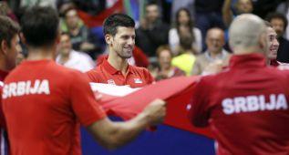 Francia y Serbia ya están en cuartos de final de la Davis