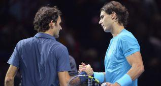 """Federer: """"Nadal tiene opciones de superarme en Grand Slam"""""""