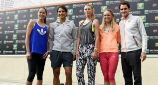Nadal-Federer y Ferrer-Djokovic, posibles cruces en Indian Wells