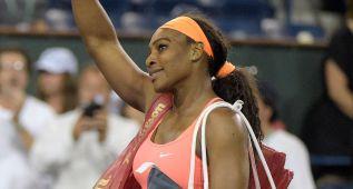 Serena recibe una gran ovación 14 años después en Indian Wells