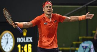David Ferrer ya adelanta a Stanislas Wawrinka en la ATP