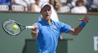 Djokovic sofocó el orgullo de Federer en Indian Wells