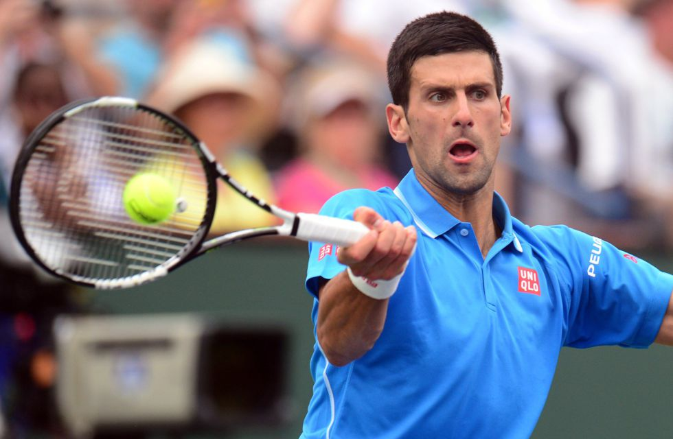 Djokovic sofocó el orgullo de Federer en Indian Wells