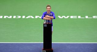 Simona Halep, campeona por primera vez en Indian Wells