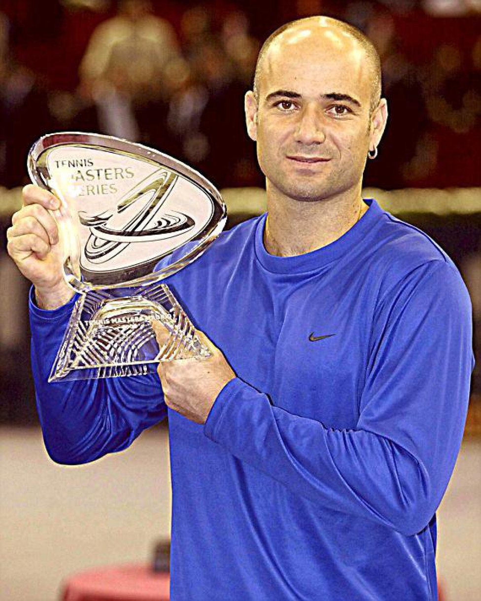 Andre Agassi 2002
