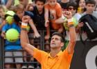 Djokovic cede un set a Almagro y pasan Bautista y Ferrer