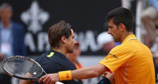Frente a Federer, la sexta final en Roma para Djokovic
