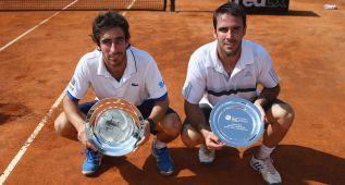 Dobles: ganan el español Marrero y el uruguayo Cuevas