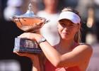 """Sharapova: """"Ganar en Roma por tercera vez es muy especial"""""""