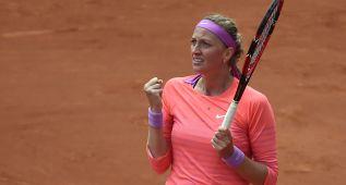 Kvitova necesita tres sets para pasar; Serena, sin problemas